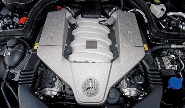 Motor del Mercedes C 63 AMG