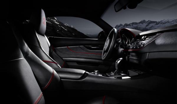 BMW Zagato Coupé interior