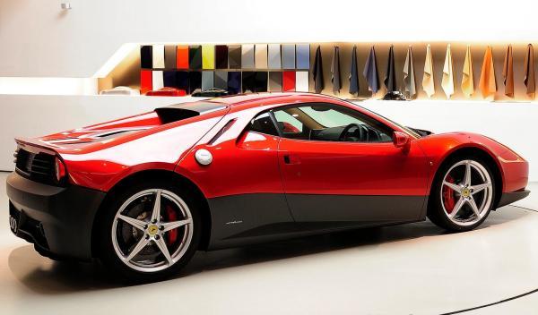 Ferrari SP12 EC trasera