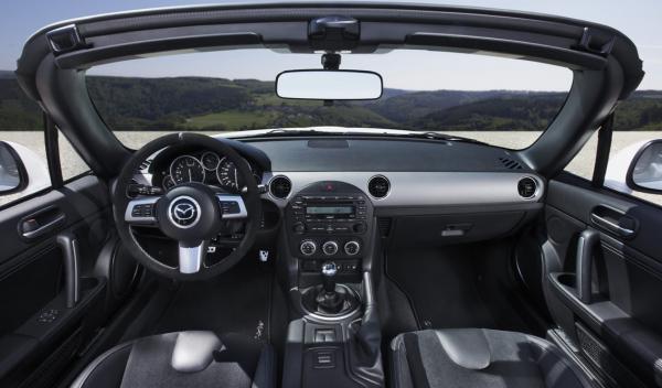 Mazda Mx-5 Yusho interior