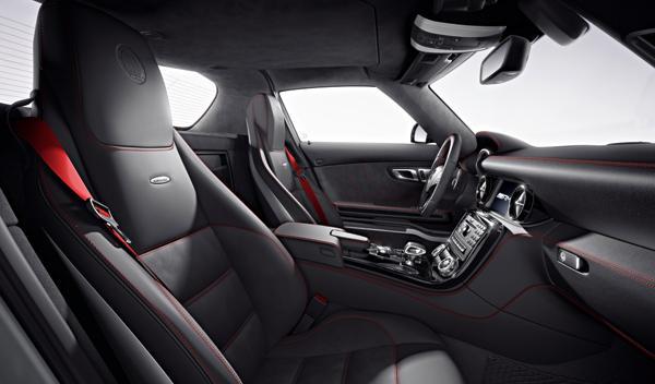 Mercedes SLS AMG GT asientos
