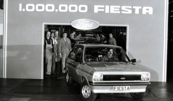 El Ford Fiesta un millón sale de Almusafes