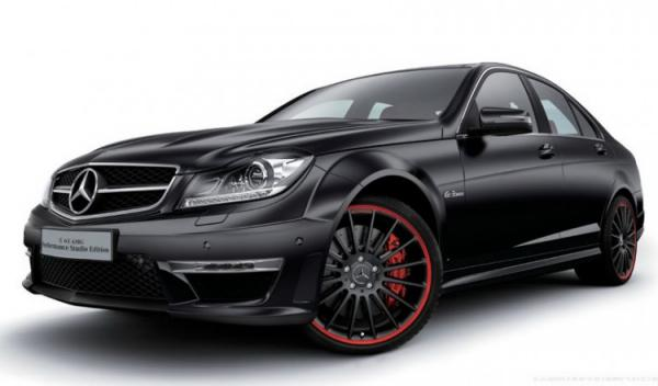 Mercedes-Benz C63 AMG Performance Studio Edition frontal
