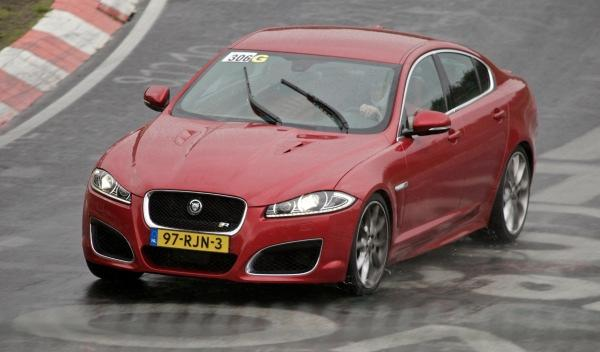 Jaguar XJ Supersport en Nürburgring