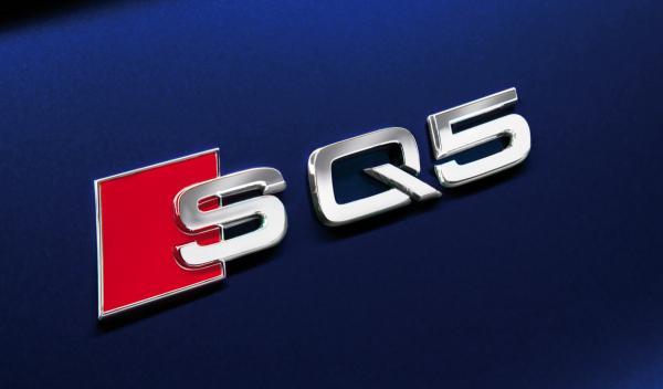 Audi SQ5 TDI emblema