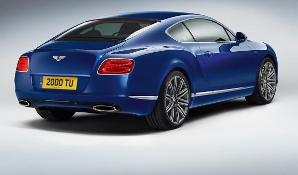 Zaga Bentley Continental GT Speed coupé