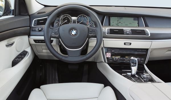Test BMW 535d xDrive Gran Turismo interior