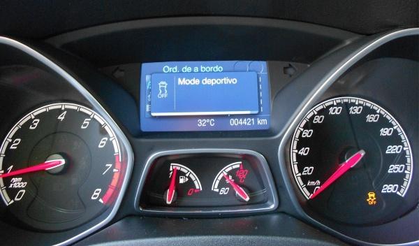El ESP del Ford Focus ST 2012 tiene tres niveles