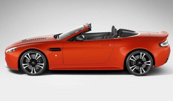 Aston Martin V12 Vantage Roadster perfil