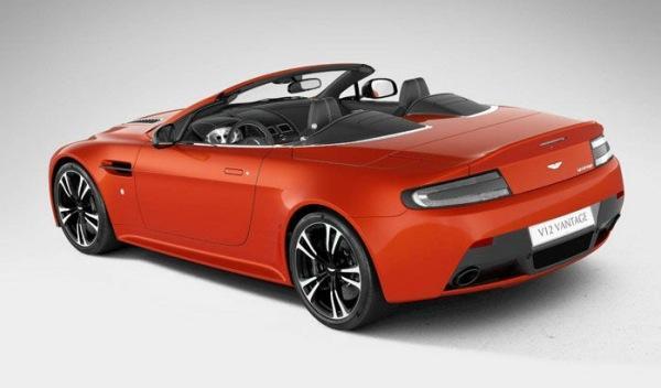 Aston Martin V12 Vantage Roadster zaga