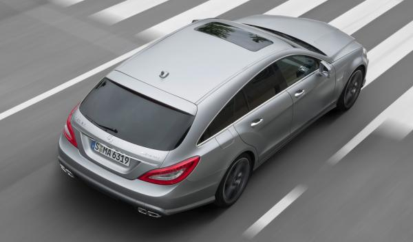 Mercedes CLS AMG Shooting Brake