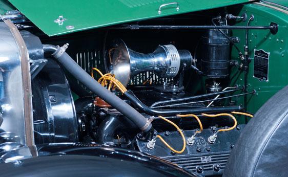 Cadillac Al Capone potente motor