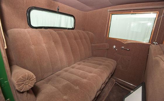 Cadillac Al Capone cómodo butacón trasero