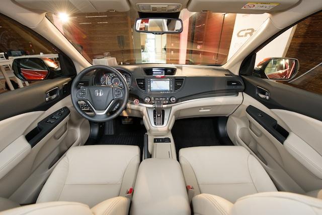 Nuevo Honda CR-V 2012 salpicadero