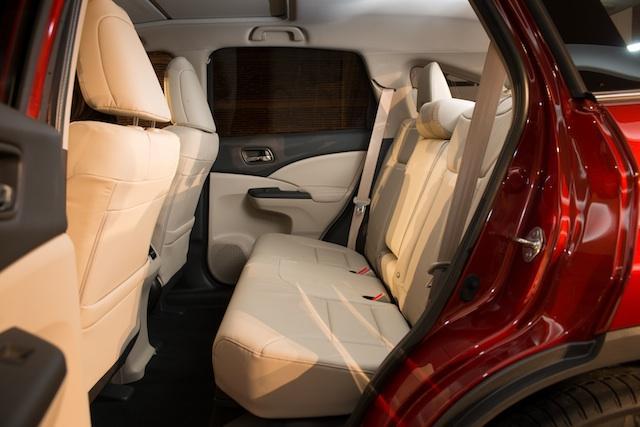 Nuevo Honda CR-V 2012 plazas traseras