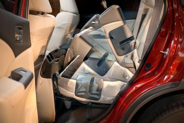 Nuevo Honda CR-V 2012 asientos abatidos