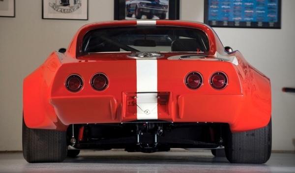 Chevrolet Corvette de 1968, trasera