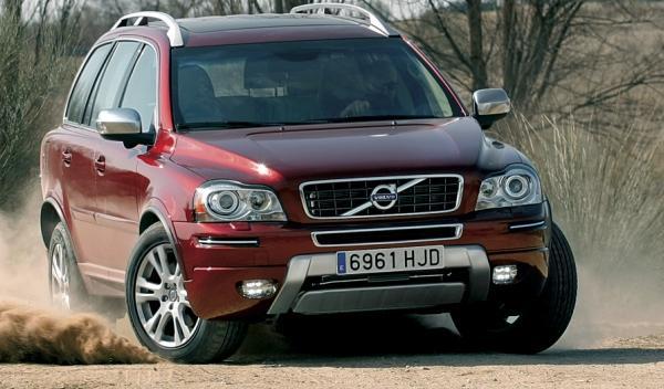 Volvo XC90, frontal