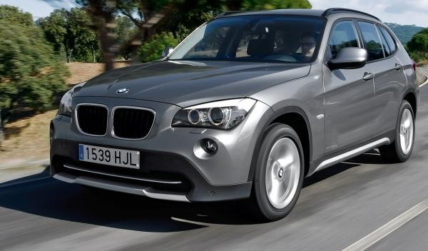 BMW X1 20d Efficient Dynamics Edition, frontal