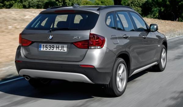 BMW X1 20d Efficient Dynamics Edition, trasera