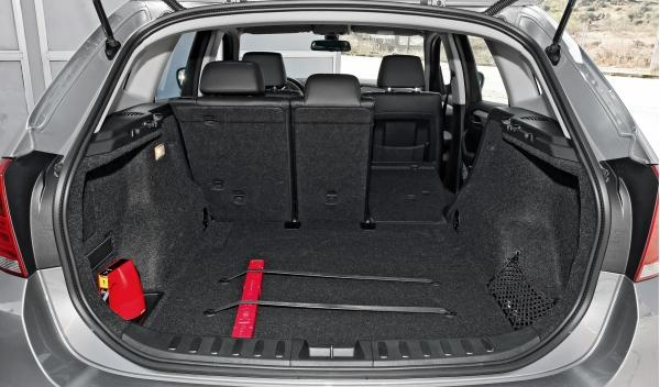 BMW X1 20d Efficient Dynamics Edition, maletero