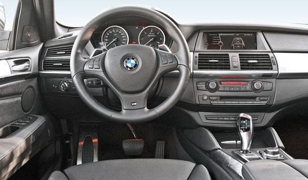 BMW X6 M50d, salpicadero
