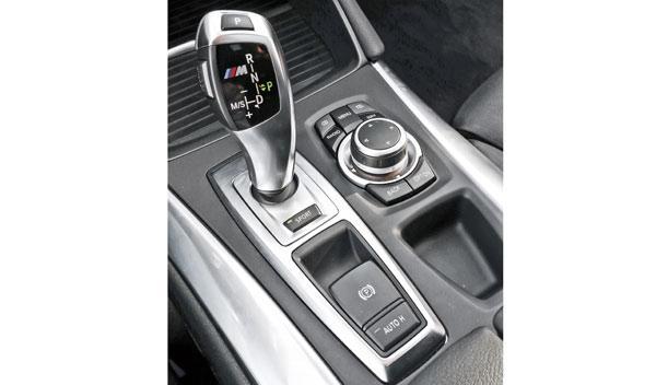 BMW X6 M50d, cambio automático