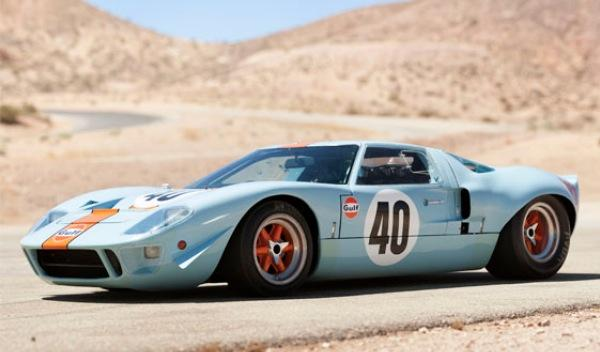 Ford GT40-Steve McQueen-frontal