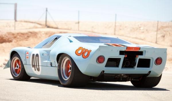 Ford GT40-Steve McQueen-trasera