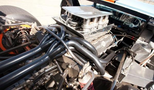 Ford GT40-Steve McQueen-motor