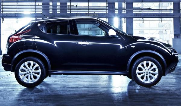 Nissan Juke Ministry of Sound, lateral