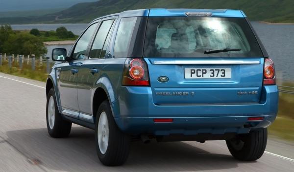 Land Rover Freelander 2, trasera