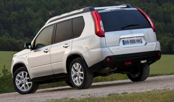 Nissan X-Trail, trasera