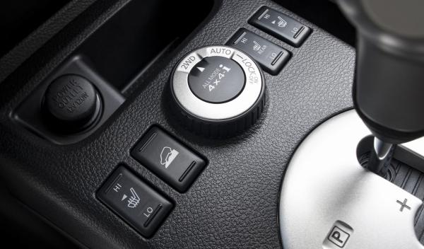 Nissan X-Trail, mando de control de la tracción