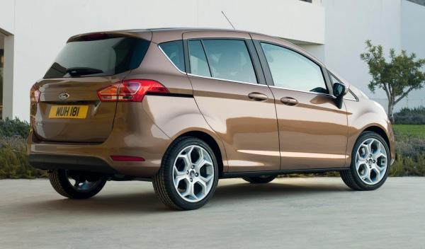 Trasera del Ford B-Max