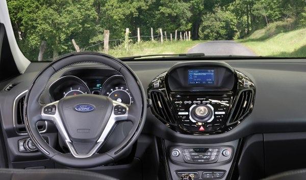 Interior del Ford B-Max