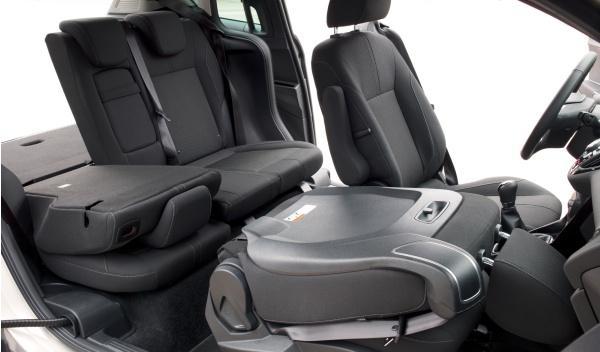 Modularidad del Ford B-Max