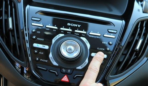 Equipo de sonido del Ford B-Max