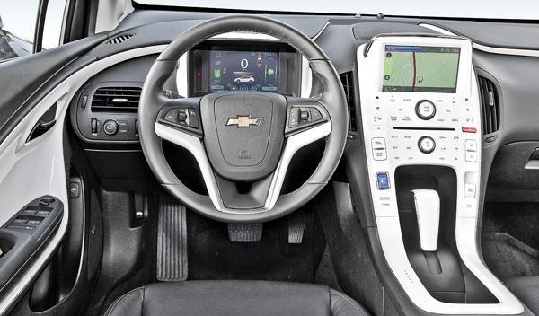 Interior del Chevrolet Volt