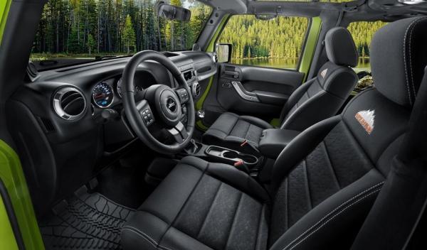Jeep Wrangler Mountain, interior