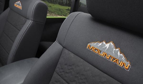 Jeep Wrangler Mountain, asientos