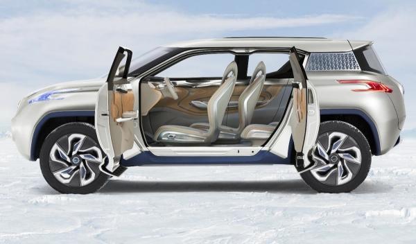 Nissan Terra SUV Concept, puertas