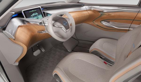 Nissan Terra SUV Concept, interior