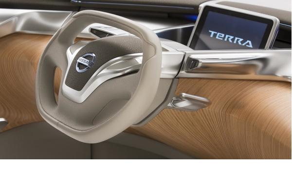 Nissan Terra SUV Concept, volante
