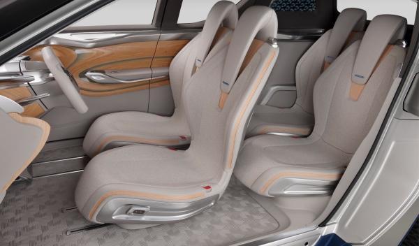 Nissan Terra SUV Concept, asientos