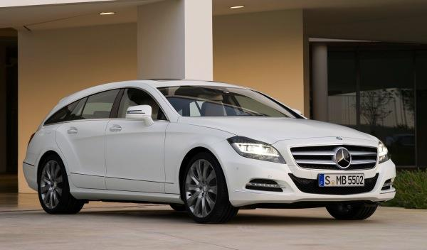 Mercedes CLS Shooting Brake frontal