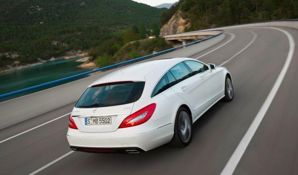 Mercedes CLS Shooting Brake trasera