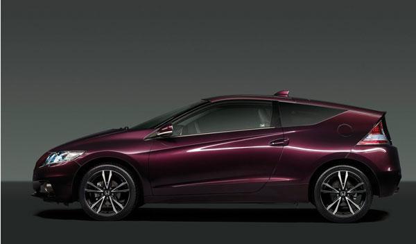 Nuevo Honda CR-Z 2012 lateral