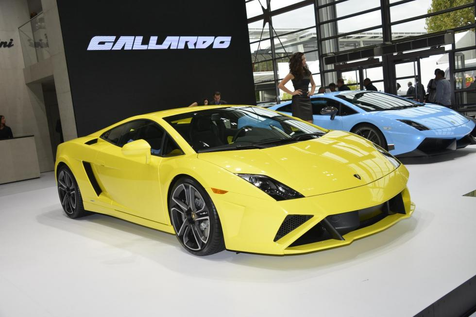 Lamborghini Gallardo LP 560-4 2013 frontal