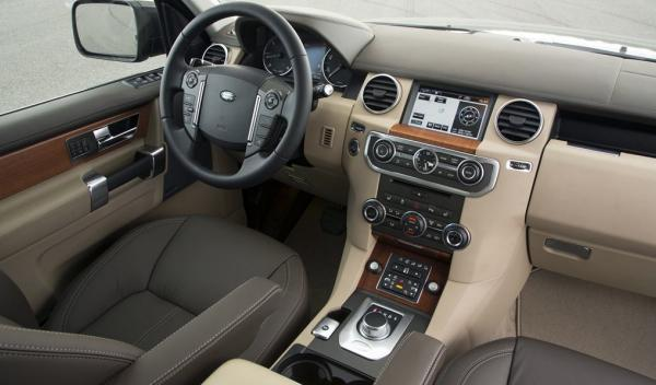 Land Rover Discovery 4 2013, interior